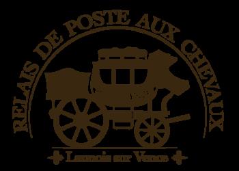 logo relais de poste aux chevaux de launois sur vence